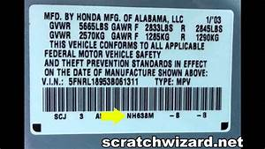 How To Find Your Honda U0026 39 S Paint Code