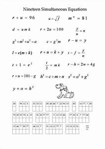 1000+ images about Maths-Simultaneous Equations on ...