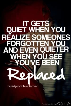 You Replaced Me Tumblr Quotes
