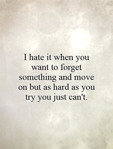 Cant Move On Love Quotes