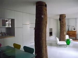Arbre D Intérieur : loft minimaliste vendre paris 10 journal du loft ~ Preciouscoupons.com Idées de Décoration