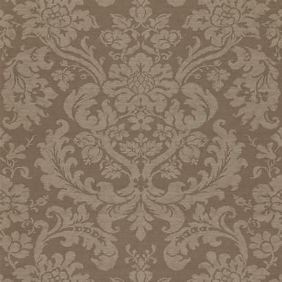 Classic Zoffany British Luxury Damask Fabric Wallpapers