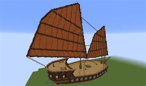 Minecraft Boat Build by Minecraft Build Asian Junk Ship Cubecraft