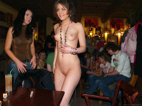 Naked Bar In Gallery Naked Barmaid Series Picture