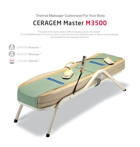 Ceragem Bed For Sale by Ceragem Massage Bed Ceragem Master M3500 For Sale