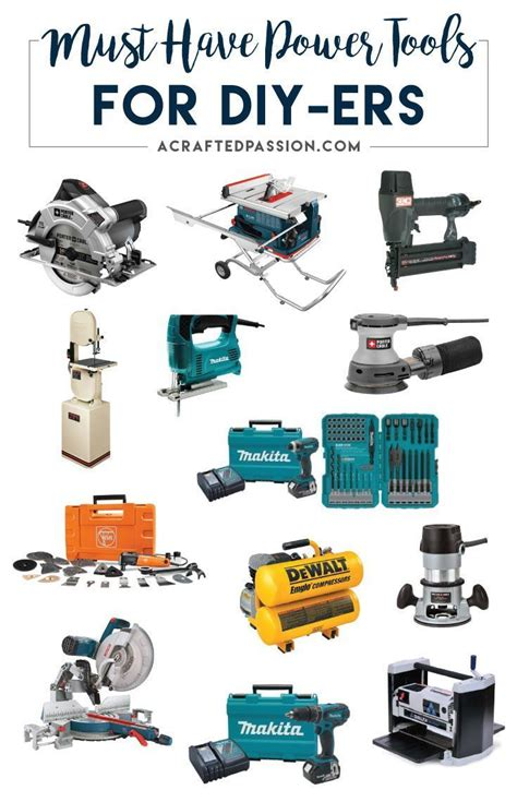 power tools  diyers woodworking power tools