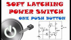 Soft Switch Transistor Push On - Push Off