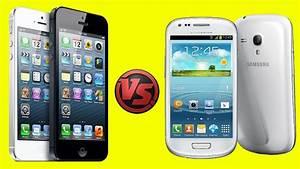 EPIC BATTLES: Samsung Galaxy S3 Mini vs iPhone 4S - YouTube