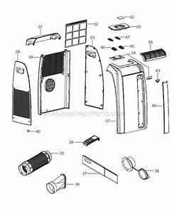 Delonghi Paca110l Parts List And Diagram