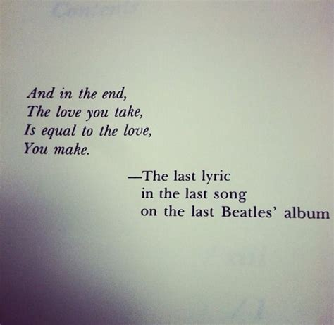 Famous Beatles Lyrics Quotes