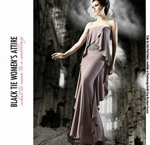 the ladies guide to wedding dress codes the pink bride With black tie dress code for wedding