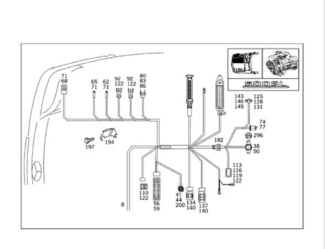 1995 sl500 engine wiring harness replacement mercedes