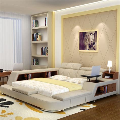 Bedroom With Bookcase by Luxury Bedroom Furniture Sets Modern Fabric Size