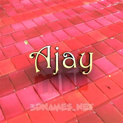 Ajay 3d Name Wallpapers Animations - preview of tiles for name ajay