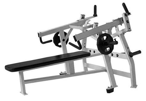 Free Weights Products Isolateral Horizontal Bench Press