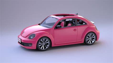 3d Barbie Car On Behance