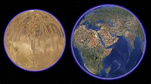 Earth From Mars Location - Pics about space
