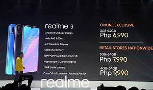 Here U2019s How  When And Where To Buy The Realme 3 Smartphone In The Philippines