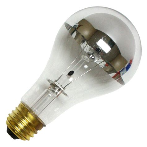 bulbrite 712110 100a21hm silver bowl light bulb