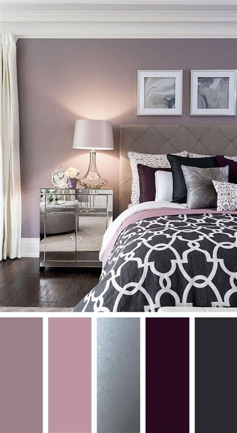 Bedroom Color Palette by Best 25 Bedroom Color Schemes Ideas On Grey