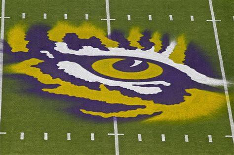 Photo: Fan shows off LSU Tiger Eye logo tattoo