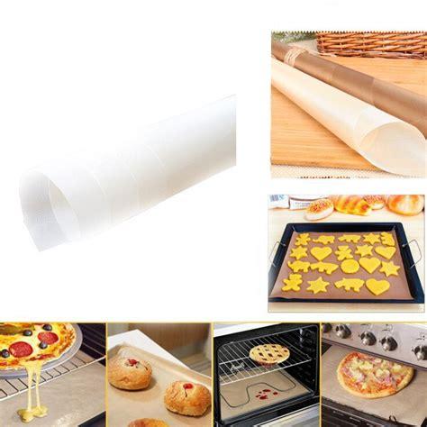 paper parchment baking sheets wax cook liners unbleached 5pc stick non
