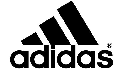 adidas logo logo zeichen emblem symbol geschichte