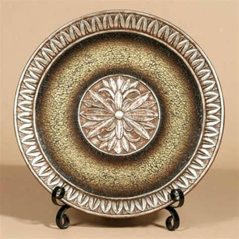 Decorative Chargers - world tuscan decorative chargers plates on
