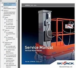 Skyjack Sjiii 3220 Wiring Diagram   33 Wiring Diagram