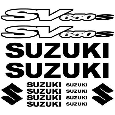 Suzuki Stickers by Stickers Suzuki Sv650 S Pas Cher