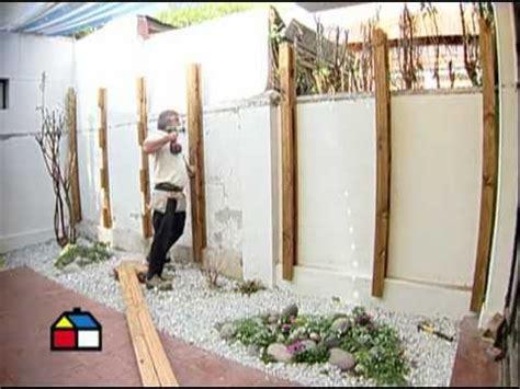 191 c 243 mo construir un deck de muro