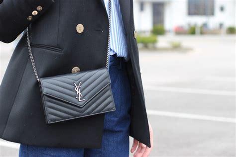 classic pieces     wardrobe ysl crossbody bag ysl wallet  chain ysl purse