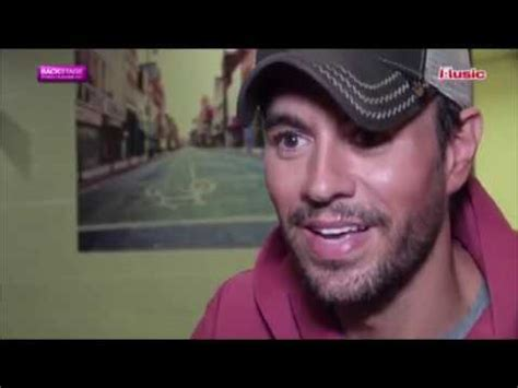 """Enrique Iglesias Talk About Why He Like """"shallow"""" By Lady Gaga & Bradley Cooper (a Star Is Born"""