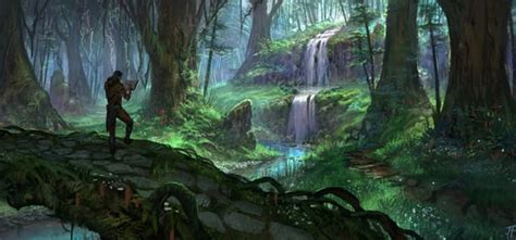 Visit A Secluded Waterfall In Grahtwood In Our New