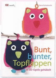 Wolle Für Topflappen : bunt bunter topflappen in 3d optik geh kelt wollywood ~ Watch28wear.com Haus und Dekorationen