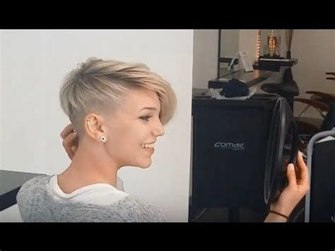 pixie inspired extreme short buzzcut haircut hairstyle