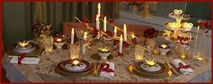 Table De Noel Traditionnelle : decoration de noel en rouge ambition fille ~ Melissatoandfro.com Idées de Décoration