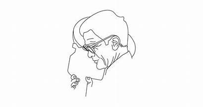Minimal Line Drawing Teepublic Pasolini