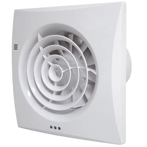 Bathroom Extractor Fan Humidistat Timer Silent Tornado