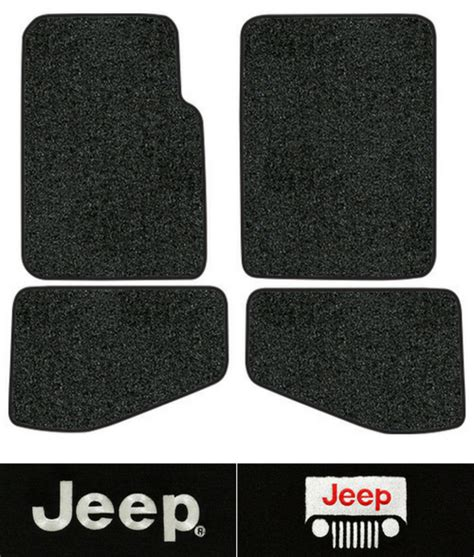 Tj Floor Mats - 1997 2006 jeep wrangler floor mats tj 4pc cutpile ebay