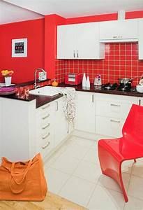 Rouge Brique Avec Quelle Couleur : quelle couleur cuisine choisir 55 id es magnifiques ~ Melissatoandfro.com Idées de Décoration
