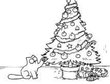 white noise cat christmas tree nothing good