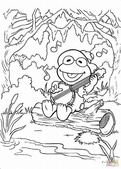 Coloring Song Printable Designlooter Tablets Android Kermit