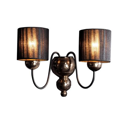 david hunt gar0963 garbo 2 light wall fitting
