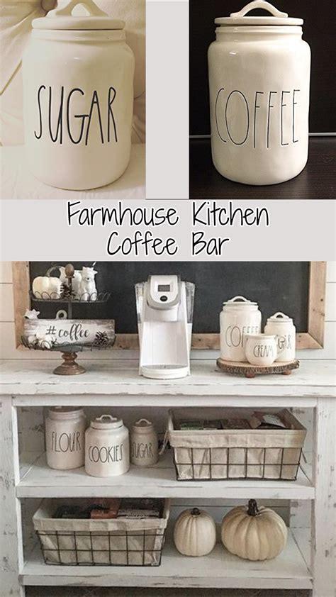 coffee kitchen decor ideas farmhouse kitchen canister sets and farmhouse decor ideas