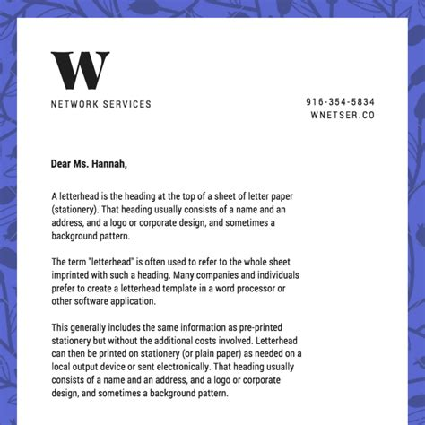 letterhead maker  stunning designs canva