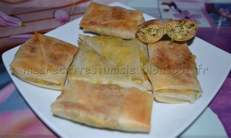 recette pate brick danouni recettes tunisiennes jiji brick au thon au four