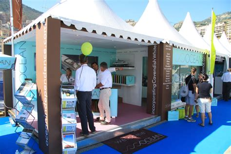 monaco yacht show exhibition stand design build