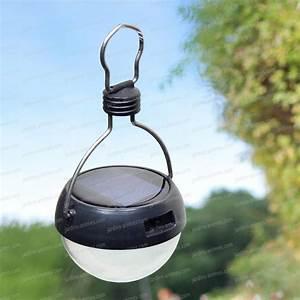 Lampe à Suspendre : balise lanterne solaire de jardin 7 leds eclairage et fontaine solaire ~ Teatrodelosmanantiales.com Idées de Décoration