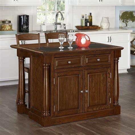 monarch oak kitchen island  seating